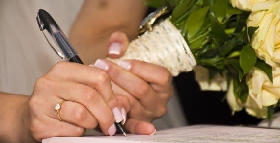 Comprendre les actes de mariage